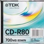 фото CD-R TDK SLIM диски