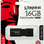 фото Флэш-диск 16GB KINGSTON 100 G3 DATA TRAVELER USB 3.0